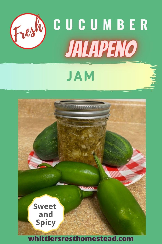 Cucumber Jalapeno Jam Pinterest